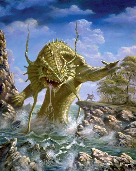 Čudovišta iz mora Sea-monster
